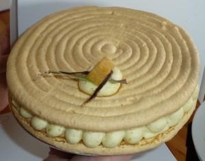 Cake Vert Beurre Escargot