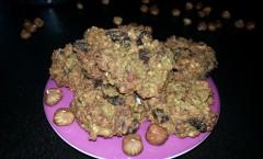 Bouchées moelleuses aux flocons d'avoine et fruits secs