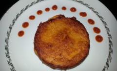 Panisse à la tomate