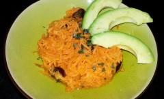 Salade de carottes à l'orange et aux dattes