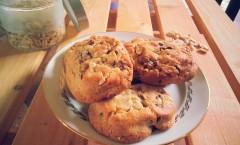 Cookies cacahuètes-chocolat au lait de Eric Kayser