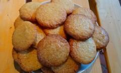 Biscuits au sucre et citron de Martha Stewart
