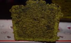 Cake au thé matcha et thé sencha