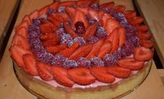 Tarte aux fraises d'Hugues Pouget