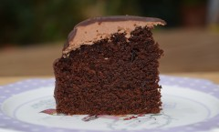 Cake au chocolat et gianduja de Claire Damon