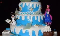 Gâteau Reine des Neiges - Momofuku Birthday Cake