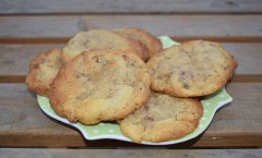 Cookies aux marrons glacés de Philippe Conticini