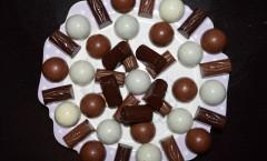 Bouchée chocolait au lait - praliné au citron vert