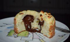 Choufflés coco-citronvert-coeur chocolat