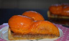 Tarte Abricot-Rhubarbe-Gingembre